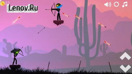 Stickman Ninja Archer Fight v 1.2 (Mod Money)