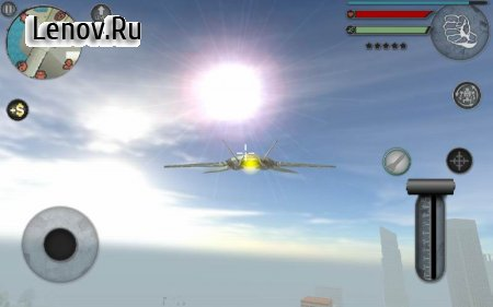 Robot Plane v 1.0 Мод (Unlimited Everything)