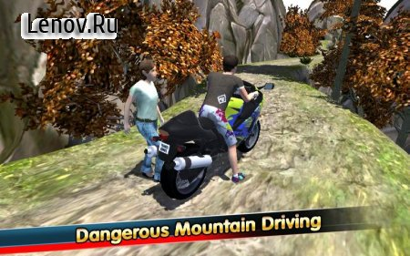 Mountain Climb Moto World v 1.6 (Mod Money)