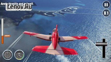 Airplane Go: Real Flight Simulation v 1.1.0 (Mod Money)