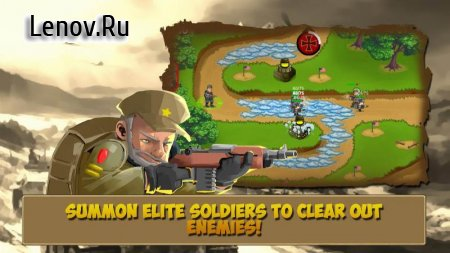Tower Defense: Clash of WW2 v 1.110 (Mod Money)