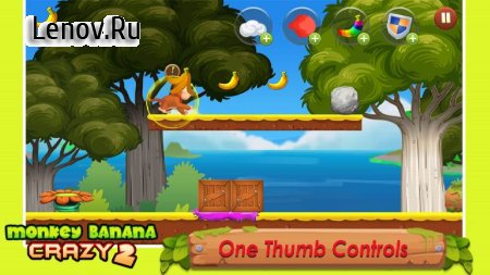 Banana Monkey Crazy 2 v 1.1 (Mod Money)