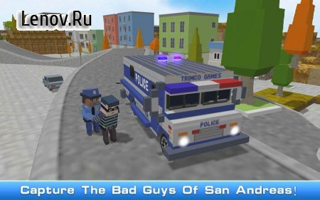 Blocky San Andreas Police 2018 v 1.6 Мод (Unlock all/imposed on gasoline)