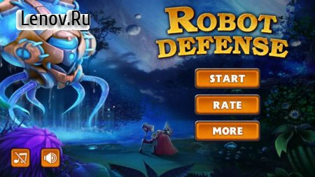 Robot Defense v 1.0.7 Мод (Unlimited Gems)