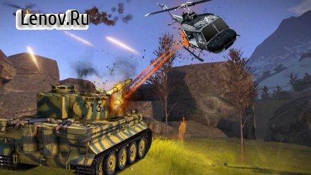 War of Tanks! Shooting Tank Battlefield v 1.0 Мод (Unlocked all level)