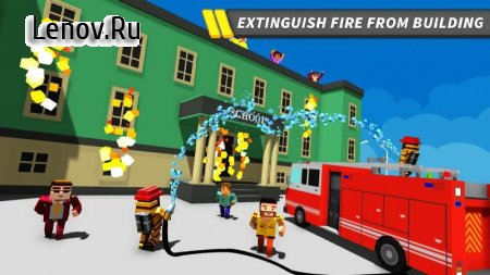 NY City Firefighter Station Craft & Simulation v 1.1 Мод (All Levels Unlocked)