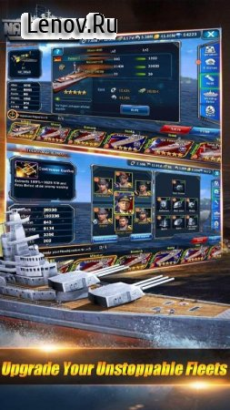 Navy Storm: Warships Battle v 1.0.0 Мод (AUTO WIN 3 STAR/X 2 BATTLE SPEED)
