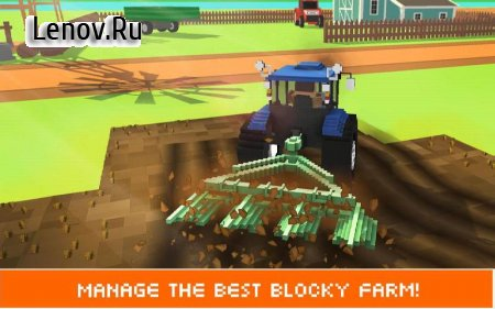 Blocky Farm: Field Worker SIM v 1.4 (Mod Money)
