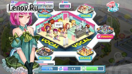 Girl Group Inc : Love Idol v 1.2.20 Мод (Infinite money/starcoins)