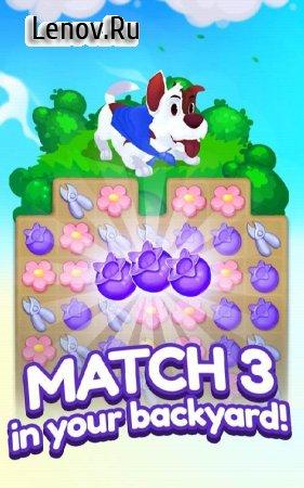 Backyard Bash: New Match 3 Pet Game v 1.3.1 (Mod Diamond)
