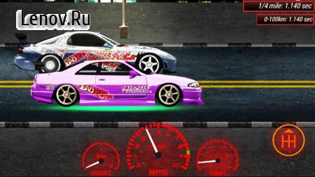 Japan Drag Racing 2D v 2.0.0 (Mod Money)