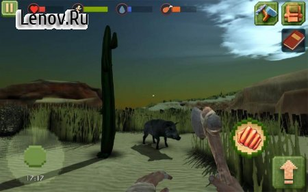 Survivor On Island v 1.4 Мод (Infinite Hunger/Thirst/Blood/Run)