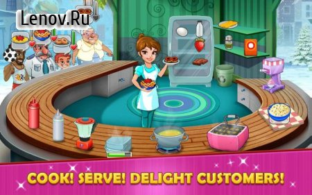 Kitchen Story : Cooking Game v 7.7 Мод (Unlimited Diamons)