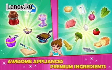 Kitchen Story : Cooking Game v 11.6 Мод (Unlimited Diamons)