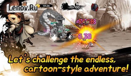 Cartoon Dungeon : Age of cartoon v 1.0.88 Мод (Gold/Cash/Mapae/Mileage)
