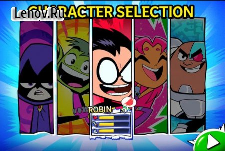 Teen Titans : Slash of justice v 1.0.0 (God Mode)