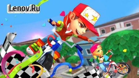 Bike Race - 3d Racing v 2.5.3051 Мод (Unlimited Gems/No Ads)