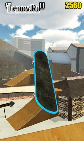 Real Skate 3D v 1.6 Мод (Unlimited Money/No Ads)