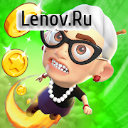 Angry Gran Up Up and Away - Jump v 1.3.1 Мод (Unlimited Coins/Gems/Boost)