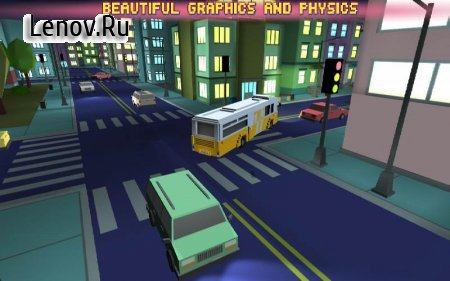 Bus Simulator City Craft 2016 v 1.3 Мод (Unlocked)