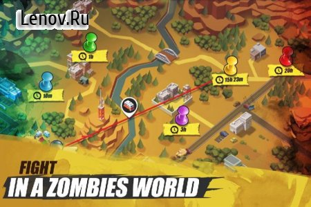 Zombie Battleground v 1.0.2 Мод (High damage)