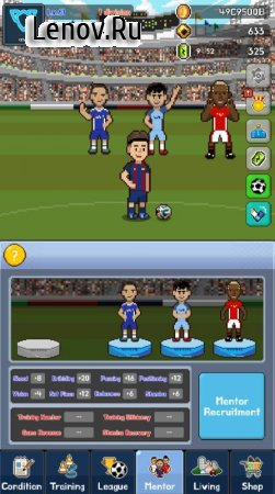 Soccer Star Manager - Gold v 1.14 Мод (Unlimited coins/golden balls/enegry drinks)