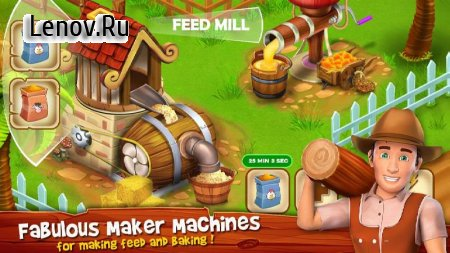 Paradise Hay Farm Island v 2.4 (Mod Money)
