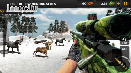 Animal Hunting Sniper Shooter v 1.7 Мод (Free Shopping)