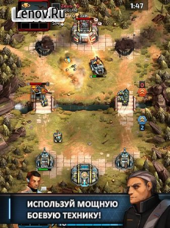 Warzone: Clash of Generals v 1.3.9 Мод (High damage/Deploy units cost 0)