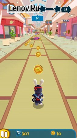 Rabbids Arby's Rush v 1.0.4 (Mod Money)