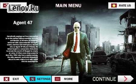 Hitman 2018 Agent 47 v 1.0 Мод (Unlimited Weapon)