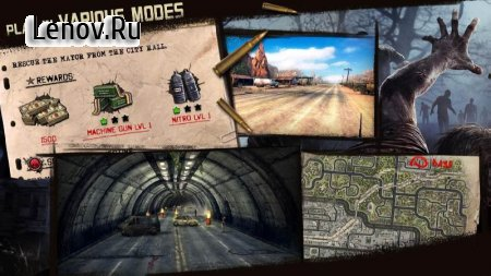 Zombie Road Escape- Smash all the zombies on road v 1.1.0 (Mod Money)