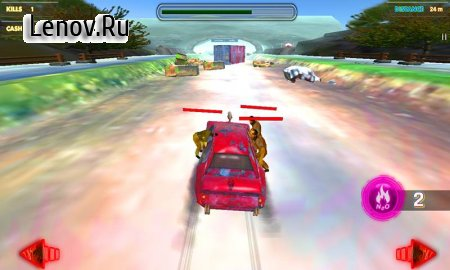 Zombie Racing Combat v 1.3 (Mod Money)