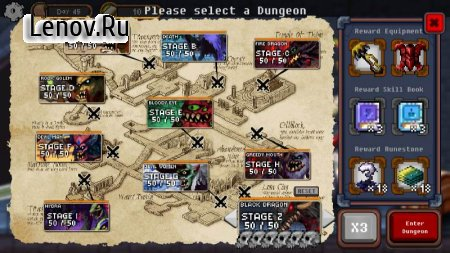 Dungeon Princess v 270.build.294 Мод (Infinite BRICs)