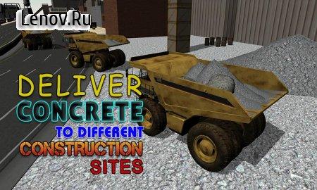 Concrete Excavator Simulator v 1.0.2 Мод (Unlocked)
