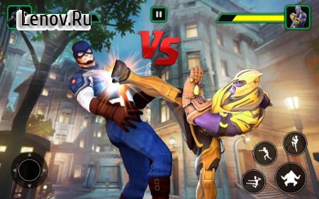 Infinity Superheroes vs Immortal Gods: Karate Game v 1.1 Мод (Unlocked)