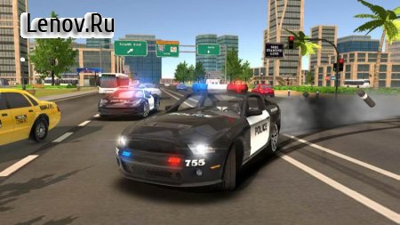 Police Drift Car Driving Simulator v 1.1 (Mod Money)