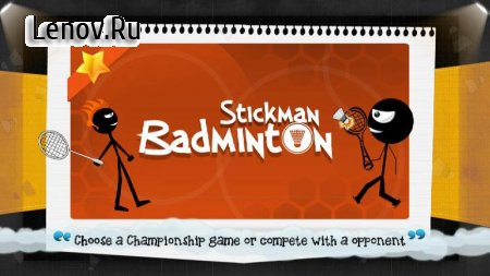 Stickman Badminton v 1.0.8 Мод (Unlocked)