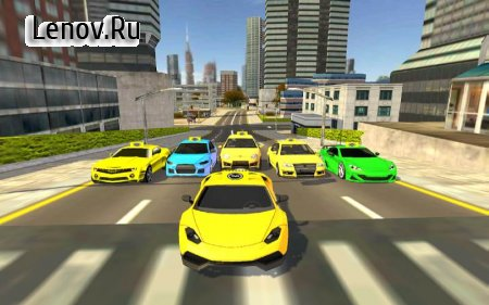 City Taxi Game: Taxi Cab simulator v 1.0 Мод (Unlocked)