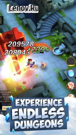 Knights & Dungeons v 3.3.14 Мод (Damage/Defense x10)