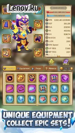 Knights & Dungeons v 3.3.11 Мод (Damage/Defense x10)