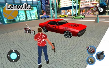 Gangster Miami New Crime Mafia City Simulator v 1.0 (Mod Money)