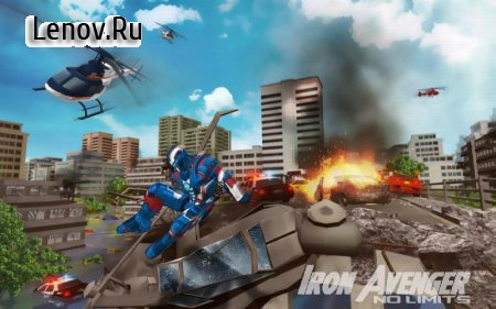 Iron Avenger - No Limits v 1.601 (Mod Money)