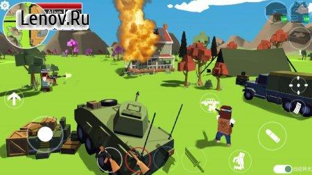 Pixels battle royale v 1.0.1 Мод (Unlocked)