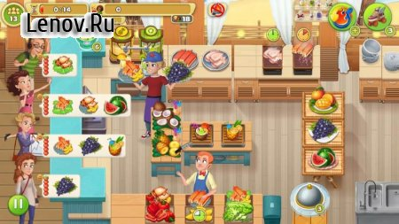 Cooking Diary®: Best Tasty Restaurant & Cafe Game v 1.31.1 Мод (Unlimited Diamonds/Money/Vouchers)