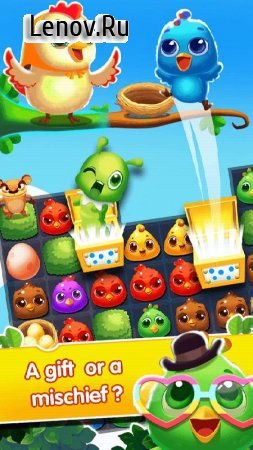 Chicken Splash 2 - Collect Eggs & Feed Babies v 7.8 Мод (Flight mode free purchase)