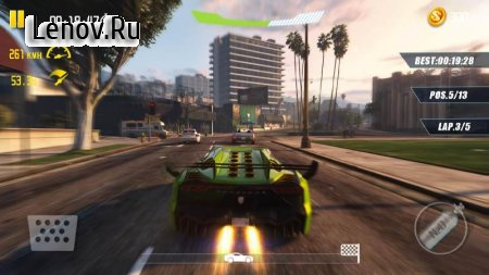 4-Wheel City Drifting v 1.0 (Mod Money)