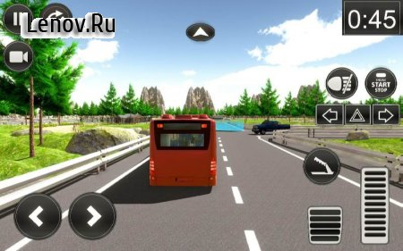 Countryside Big Bus 2018-Highway Driving Simulator v 1.3 (Mod Money)