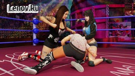 Bad Girls Wrestling 2018: Hell Ring Women Fighting v 1.0.6 (Mod Money)