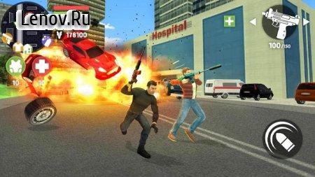 ⚫️Real Crime Auto: Vice City v 1.0.6 (Mod Money)